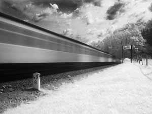 Rasender Roland - Zug der Unendlichkeit - Infrarotaufnahme